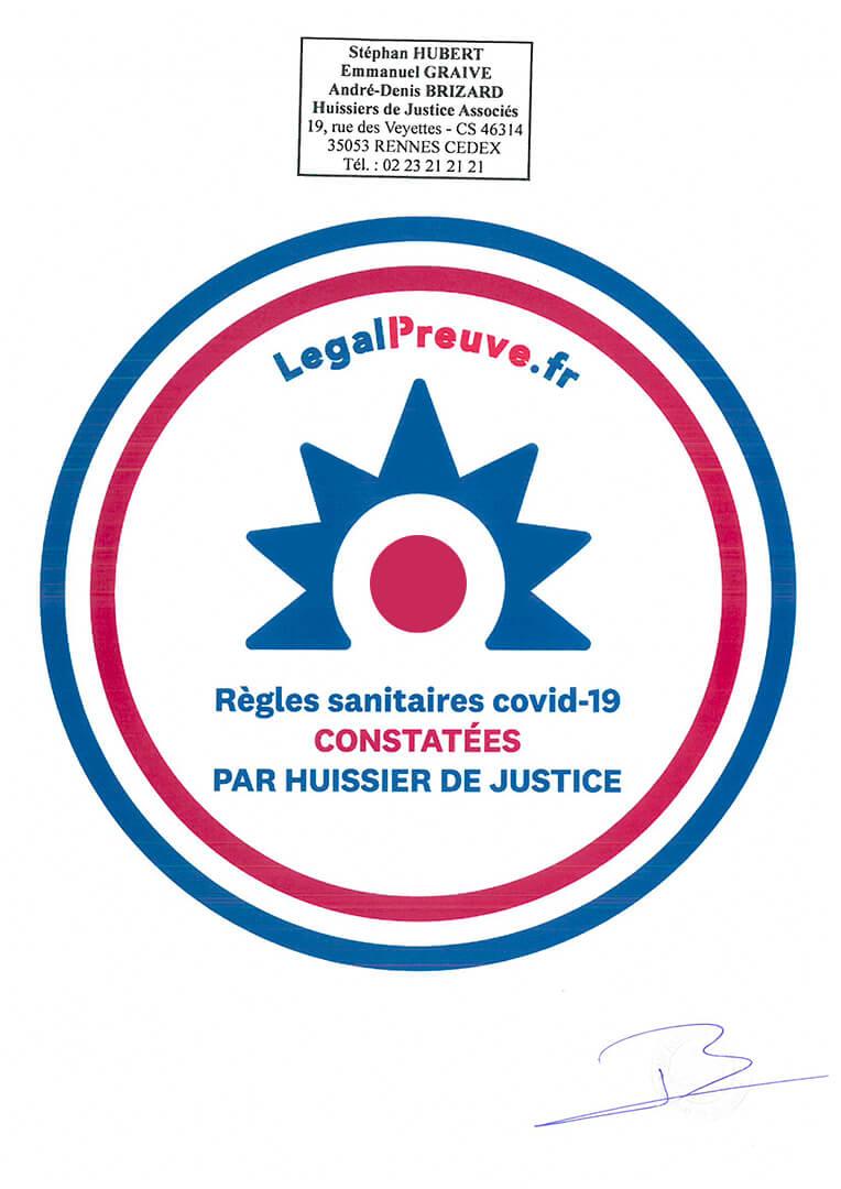 Legalpreuve Groupe Launay
